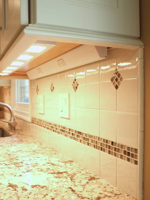 Details Details Details ~ 1) Under cabinet lighting 2) Light rail ...