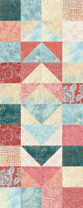 Migrating Geese Hawaii   quilts   Pinterest : migrating geese quilt pattern - Adamdwight.com