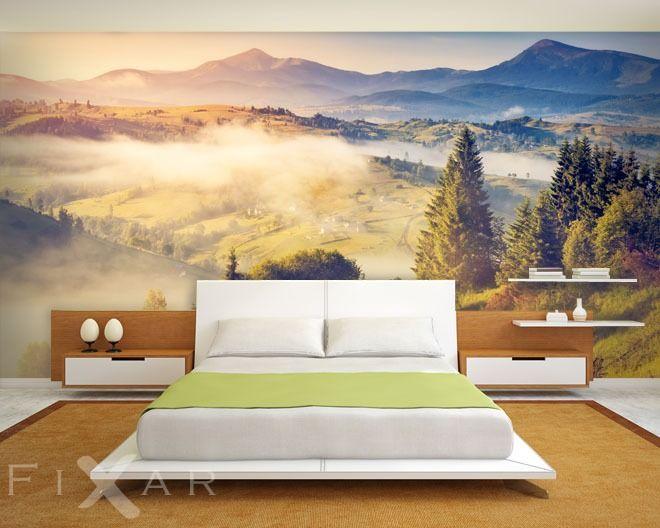 Bildtapete Schlafzimmer ~ Fototapeten erholung in einer pusteblume schlafzimmer