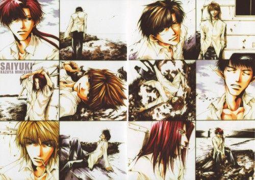 Kazuya Minekura, Studio Pierrot, Saiyuki, Backgammon Remix, Son Goku (Saiyuki)