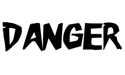 danger fonts - Google Search | letterformideas | Logos, Nintendo wii