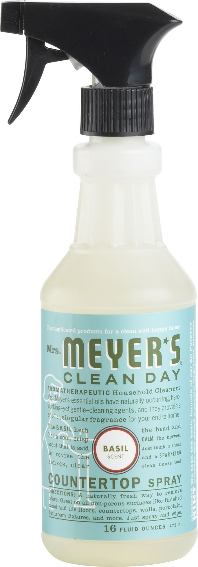Mrs Meyer S Basil Countertop Spray In Sale Kitchen Crate And
