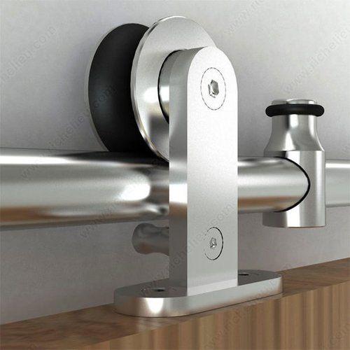 Richelieu Industrial Stainless Steel Barn Door Hardware Set …