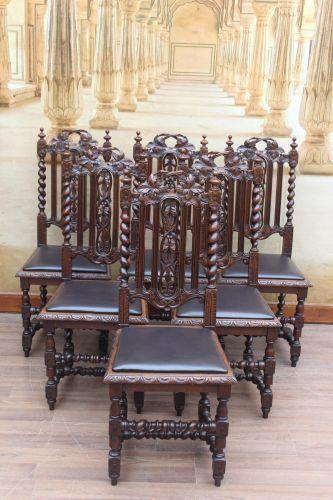 6 Gründerzeit Stühle   Hochlehner
