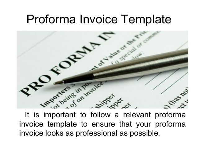 Searching To Proforma Invoice Templates And In Free Too
