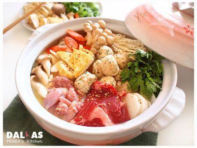 Peggy廚房 日式味噌相撲鍋 特製香根沾醬by Peggy Chang Recipe