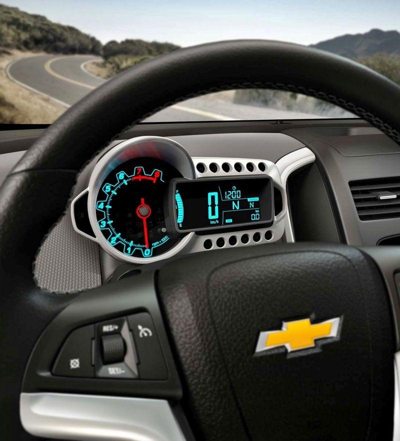 2012 Chevrolet Sonic Interior Coches Rapidos Autos Productos