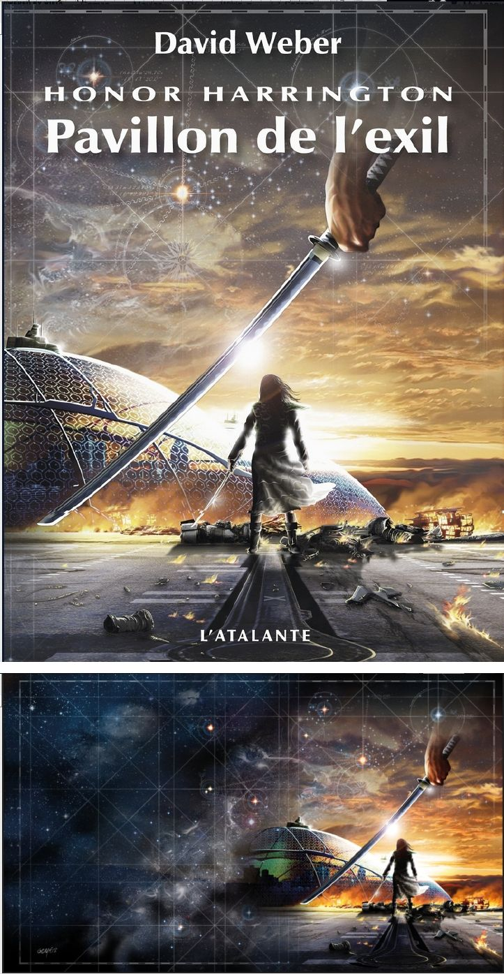 Genkis Pavillon De I Exit Flag Of Exile By David Weber 2013 L Atalante Cover By Honorverse Wikia Print By Genkkis Horror Books Sci Fi Fantasy Fantasy