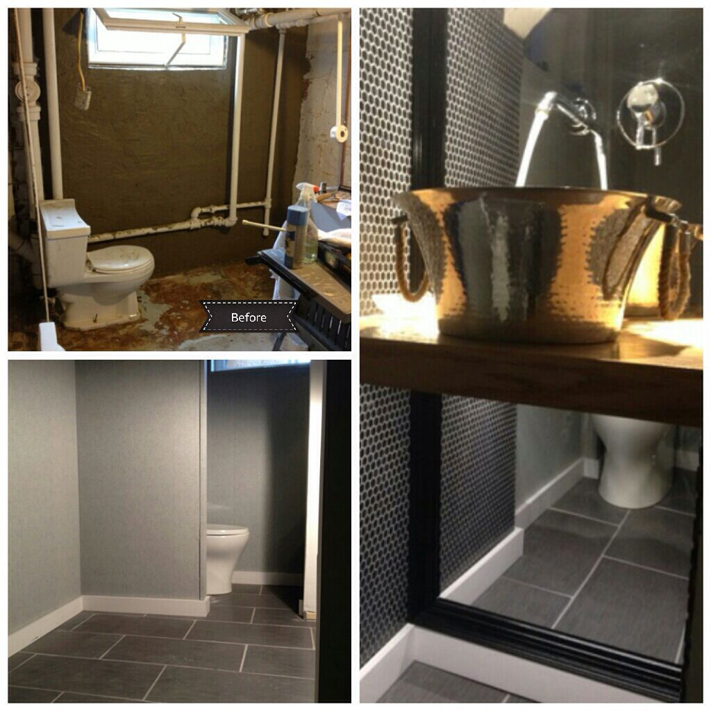 Basement Bathroomsmall Wash Room Remodel Full Wall Mirror Ice Enchanting Basement Bathroom Remodeling Design Decoration
