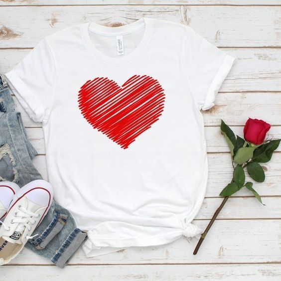 Valentines Red Heart T-Shirt ZNF08  Valentines Red Heart T-Shirt ZNF08  #Heart #Red #TShirt #Valentines #ZNF08