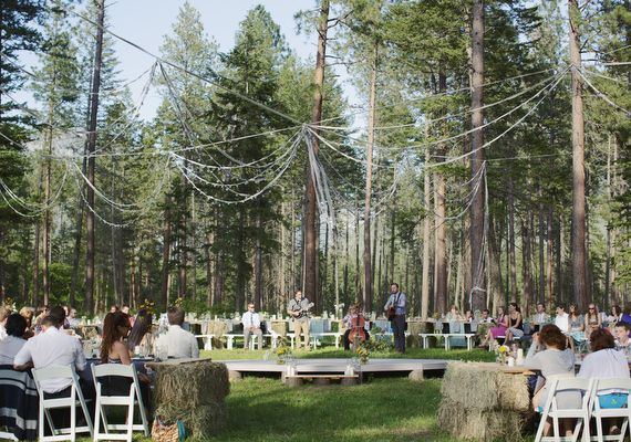 Rustic Outdoor Montana Wedding Photo By Ben Blood 100 Layer Cake Awesome Ceremony Reception Setup