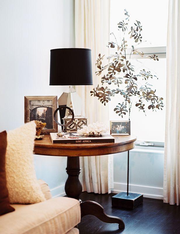 Lonny Magazine Jul/Aug 2011 | Photography By Patrick Cline; Interior Design  By Lauren. Round End TablesRound ...