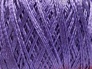 Viscose Chain - Lavender: 6 x 50g/200m, SYW2, 40% Viscose 60% Polyamide Limited Edition Yarn at Anjicat's Rocking Chair