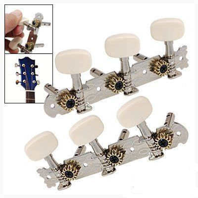 2 X 3 On Plate Guitar Tuning Keys Pegs Machine Tuner Heads By Uxcell 8 84 Absolute High Quality Guaranteed Gu Guitar Tuning Guitar Tuning Pegs Guitar Tuners