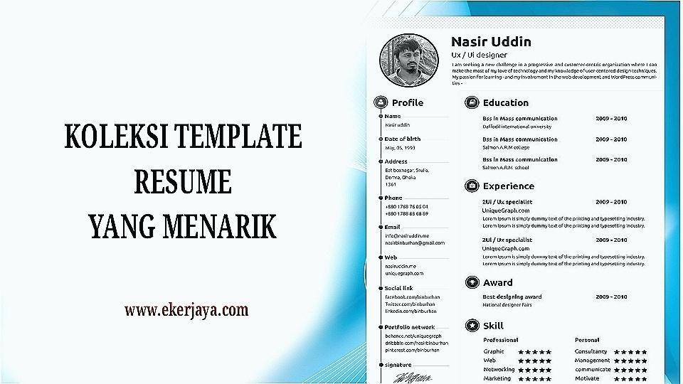 Kerajaan 3 Resume Format Pinterest Resume Format And Resume