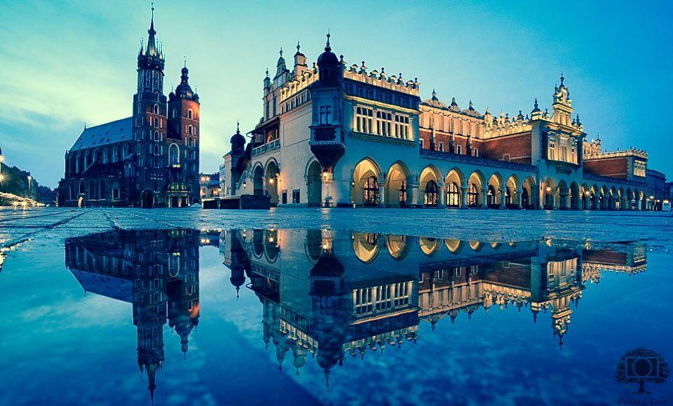 Krakow Poland City Center Krakow Rome Vacation Ile De France