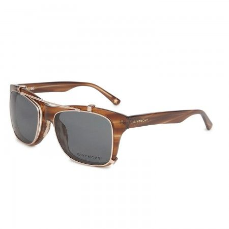 2baedff9ed40 Givenchy - Square frame clip on sunglasses   Baubles.   Clip on ...