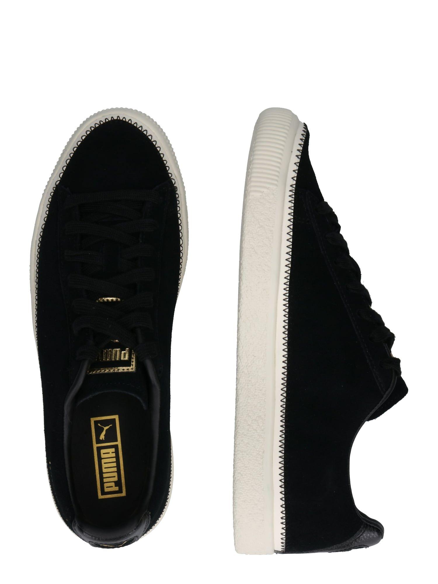 Puma Sneaker Suede Trim In Schwarz Puma Sneaker Sneaker