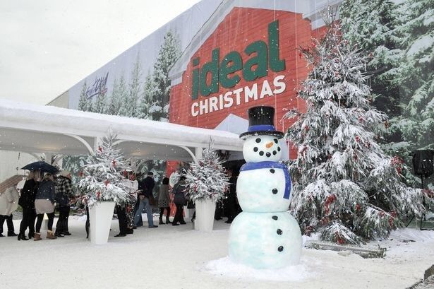 2x Tickets To The Ideal Home Christmas Show 21/11/18 Olimpia London