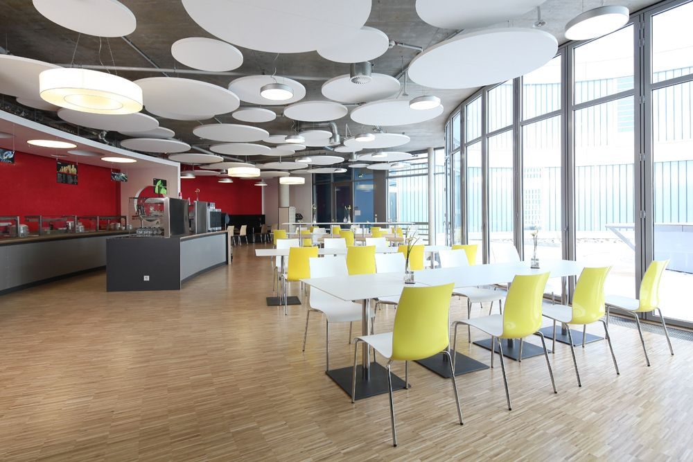 Two Coloured Fina Chairs In The Eberspächer Werk Cafeteria Http://www.