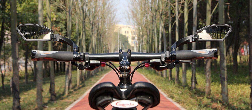 2pcs Cycling Bike Bicycle Mirror Handlebar Flexible Safe Rear View Rearview