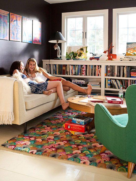 living room color scheme energetic fun kids rooms pinterest