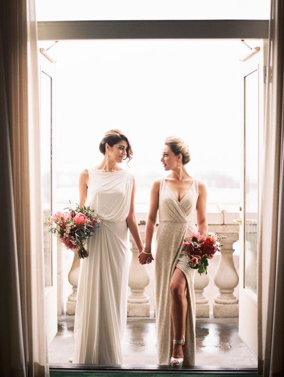 lesbian wedding photography ideas