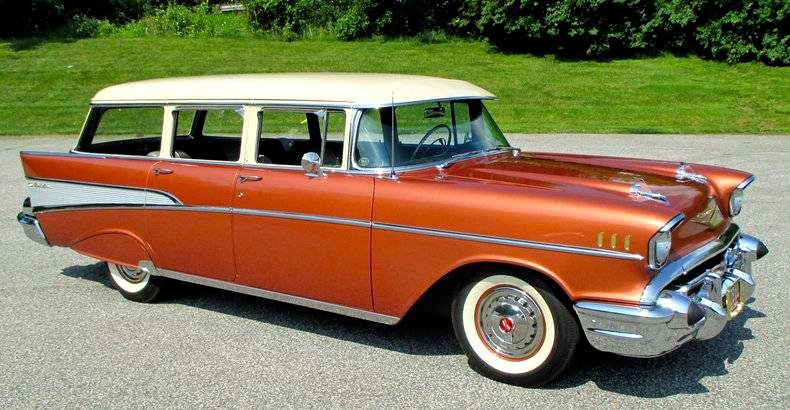 1957 Chevrolet Bel Air Station Wagon Autos Chevrolet Coches