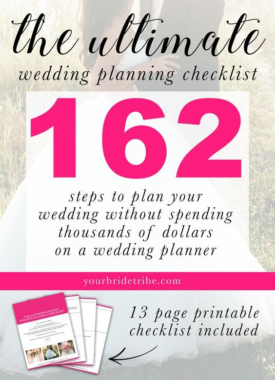 get the ultimate wedding planning checklist wedding planning