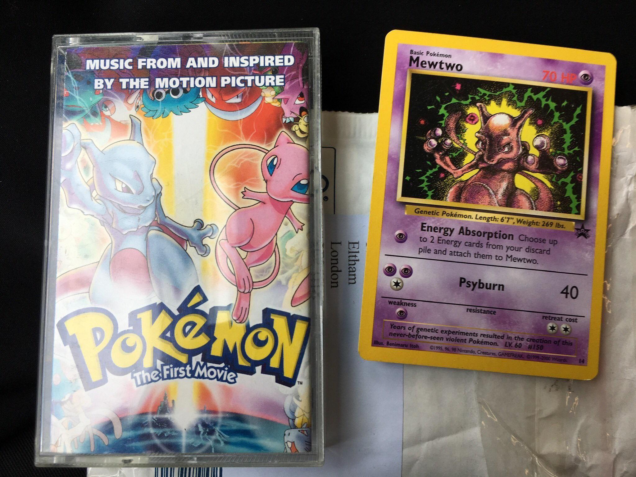 Pokemon the First Movie OST (Ft. MewTwo promo card) : cassetteculture |  Pokemon, Hình ảnh, Pikachu