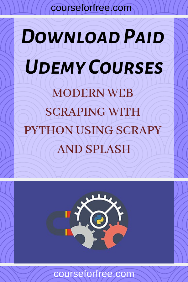Become an expert in web scraping and web crawling using Python 3