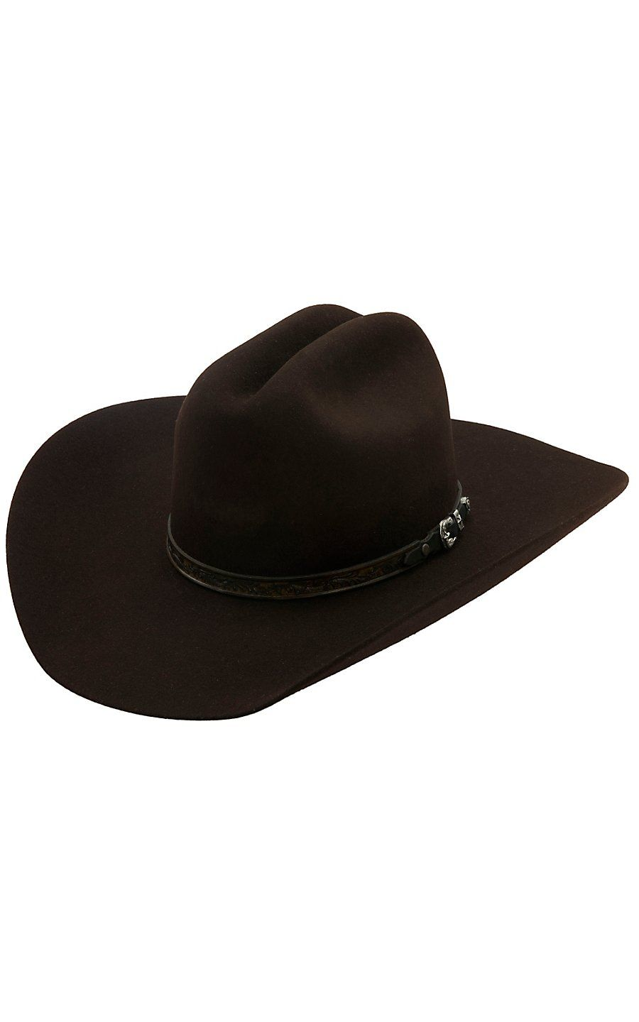 Larry Mahan Retro Fur Felt Cowboy Hat