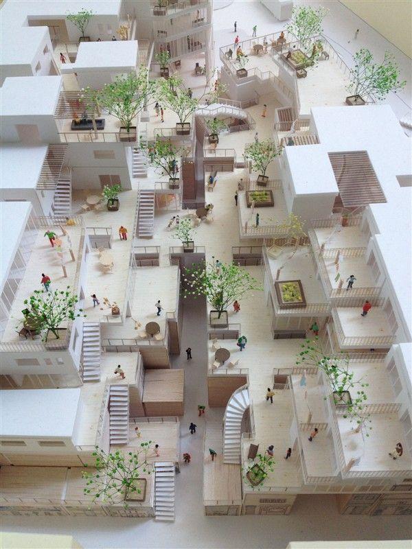 sollevare il cortile resi block pinterest architecture models