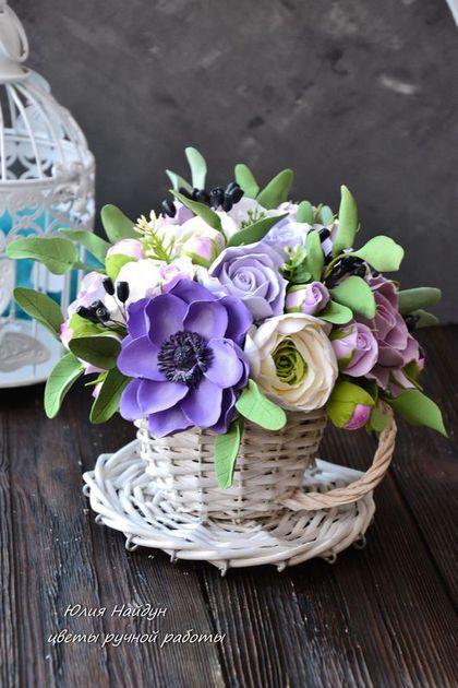 Цветы из лозы фото