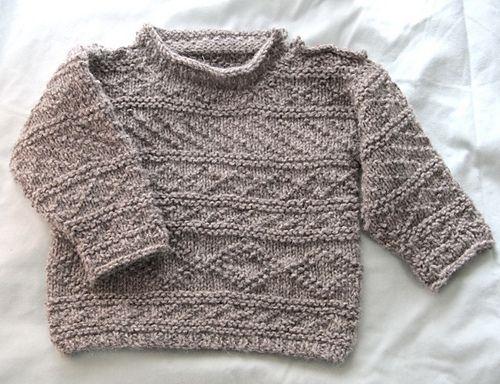 55e20fb2d4420b Ravelry  Wee Scottish Fisherman s Sweater pattern by Liz Sorenson