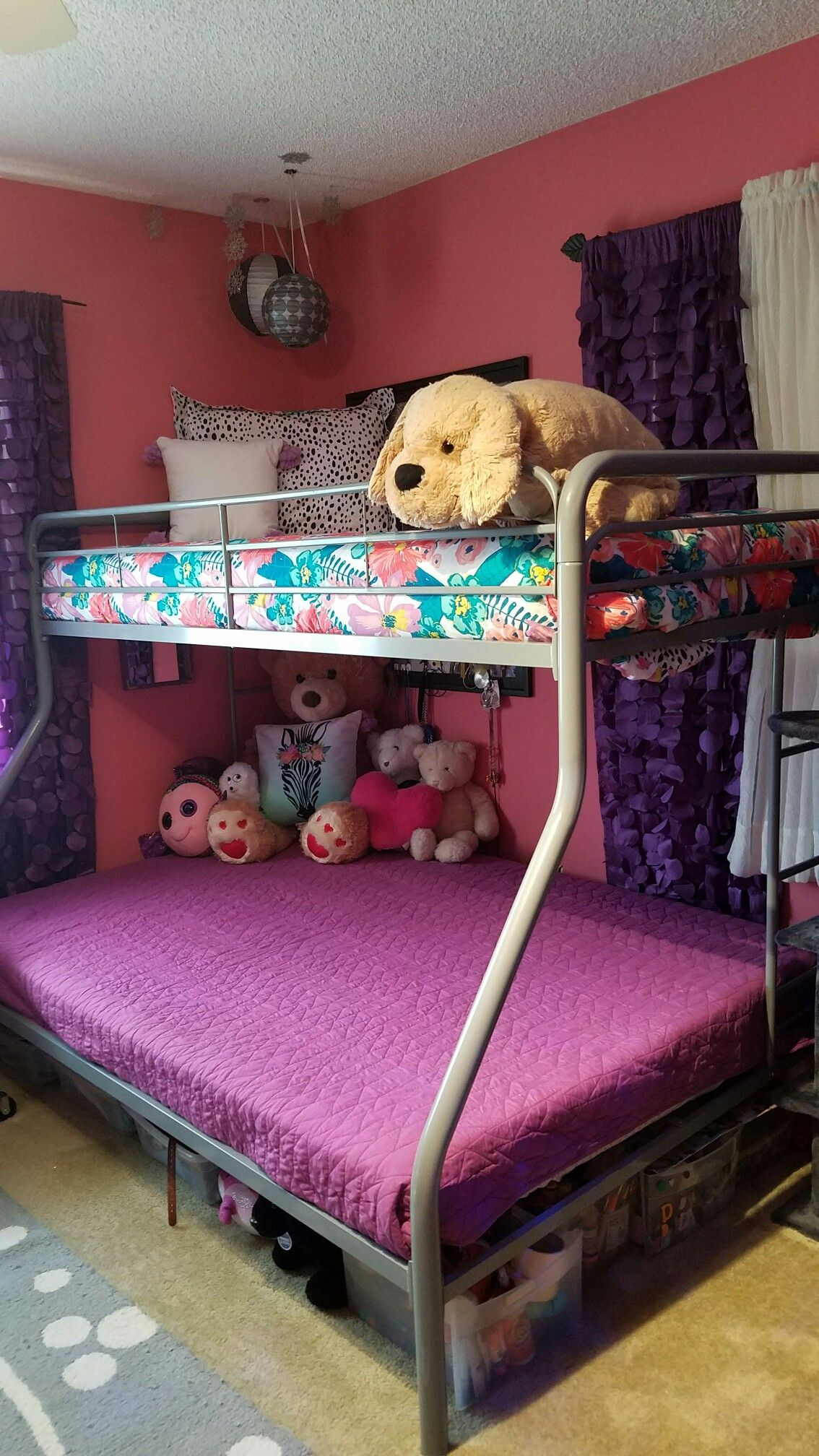 Girls Bunkbed Bedroom