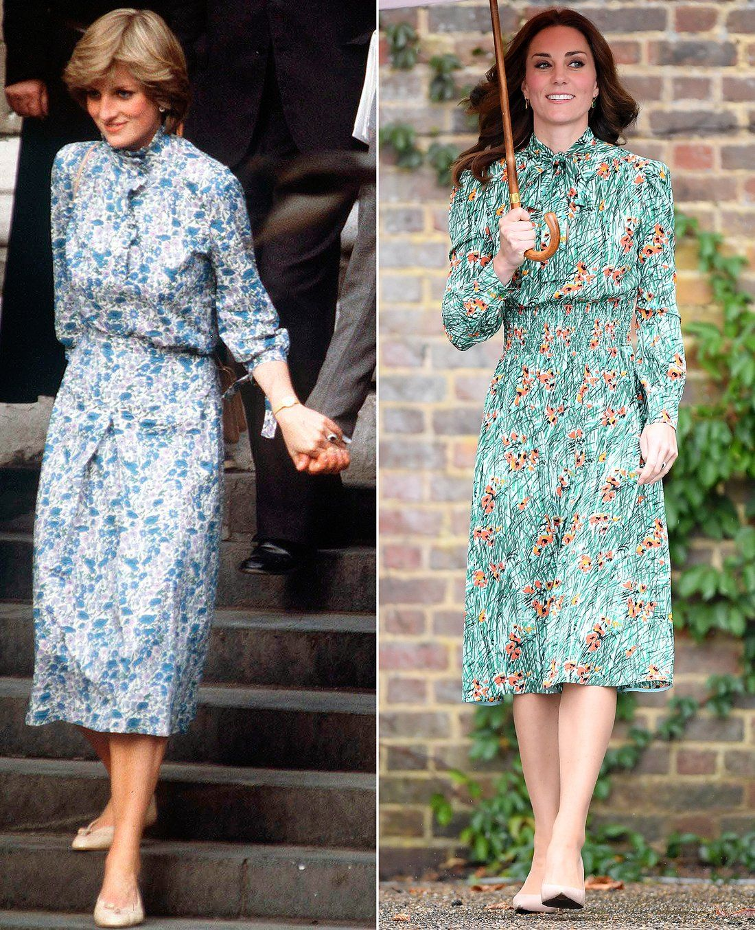 Kate Middleton Perfectly Channels Princess Diana In One Of