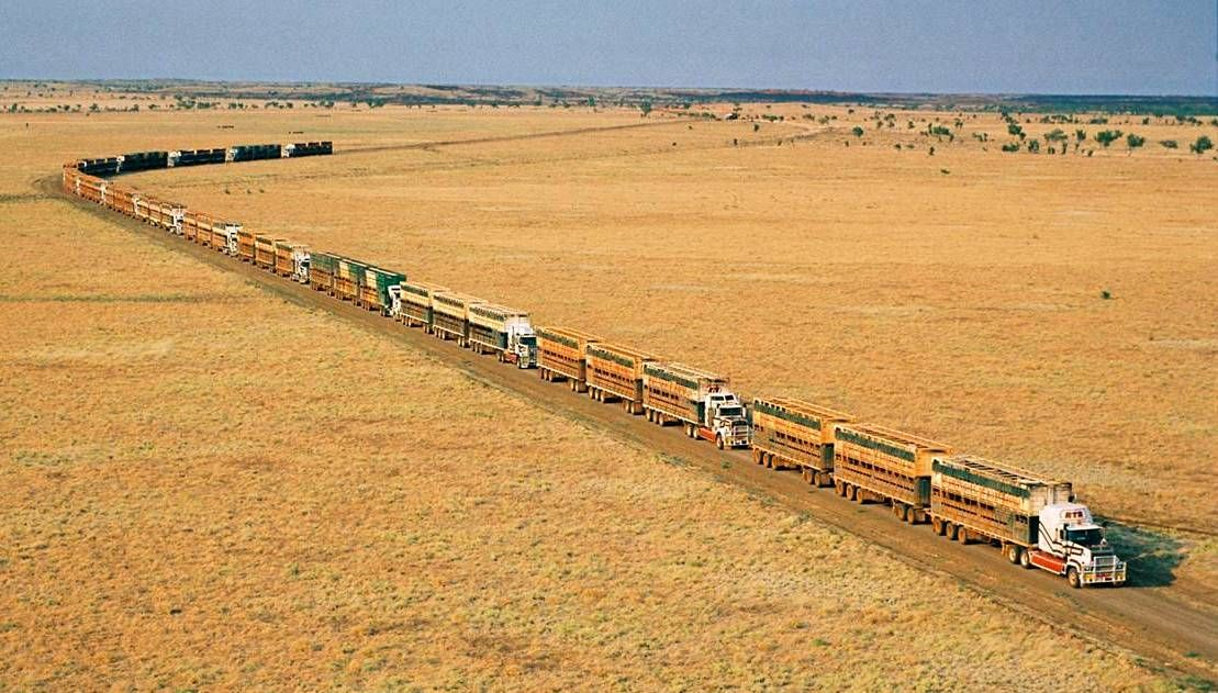 10 Things You Didn't Know About Semi Trucks Road train