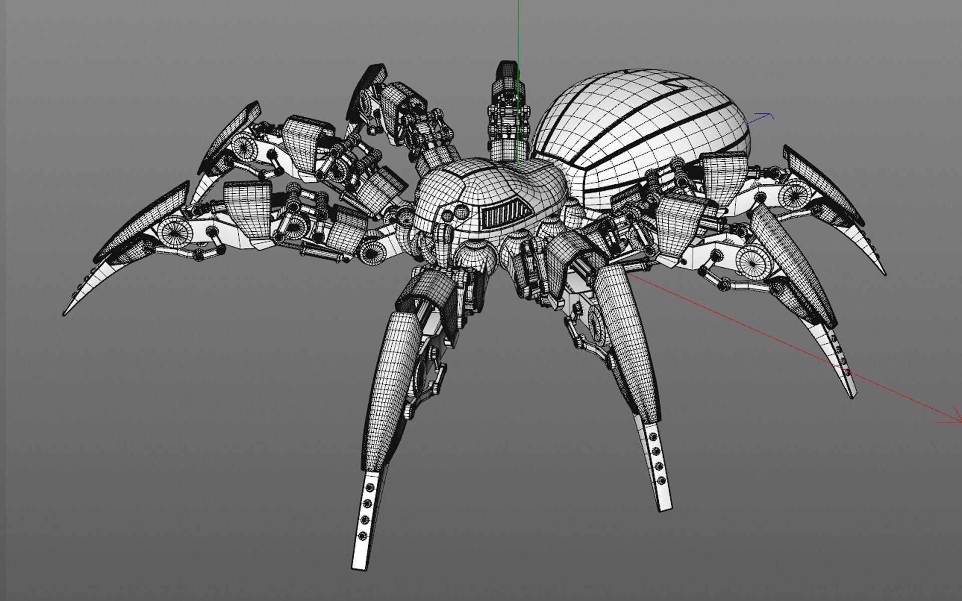 Page Full Hd P Robot Wallpapers Hd Desktop Backgrounds Spider Robot Robot Wallpaper Robot Design