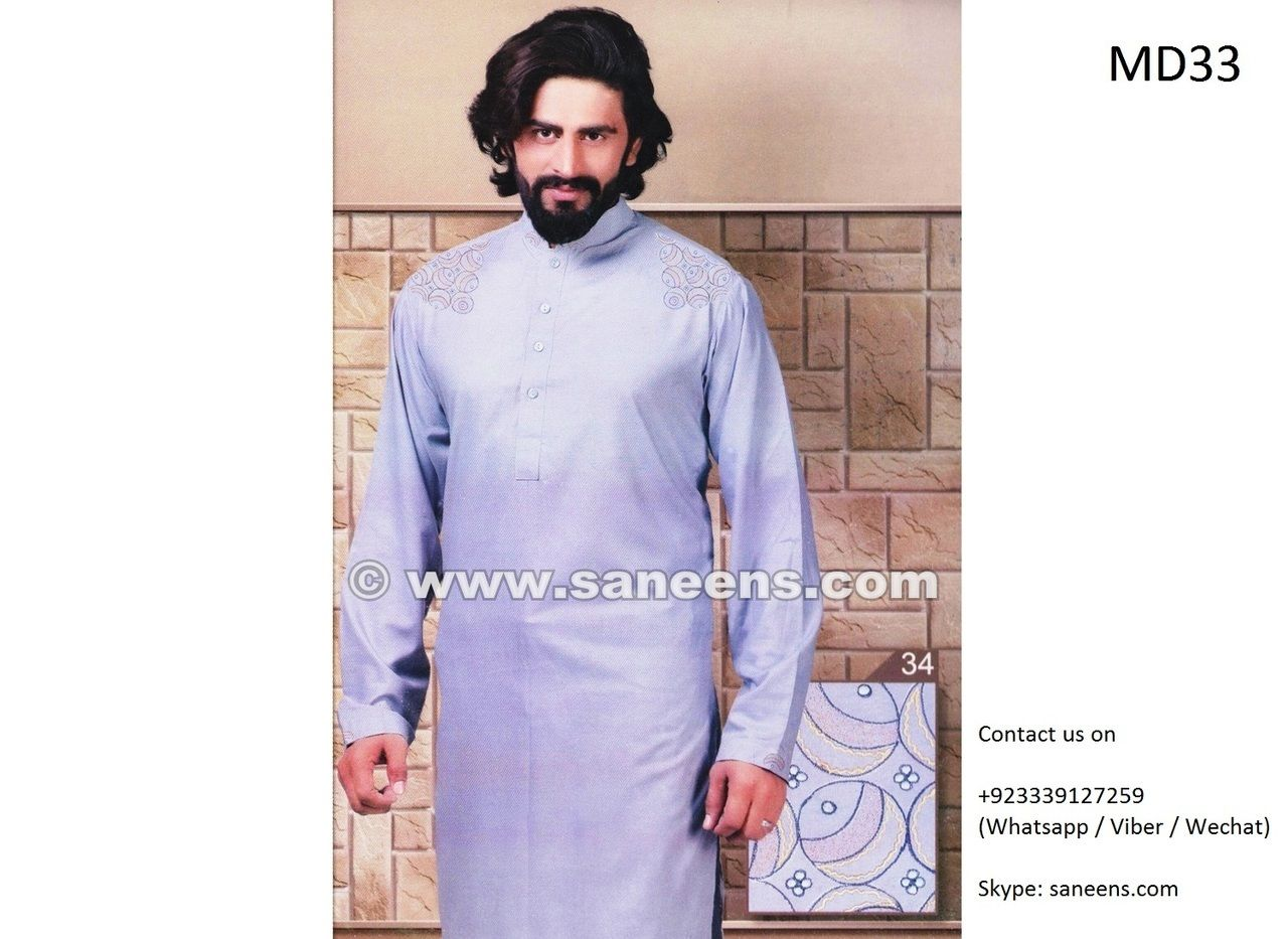 Afghani Dress For Gents In Light Blue Color Afghan Fashion and