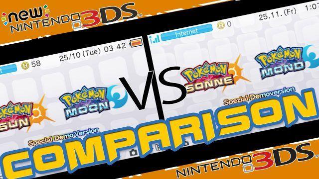 Pokèmon Sole e Luna un video mette a confronto le versioni 3DS e New 3DS