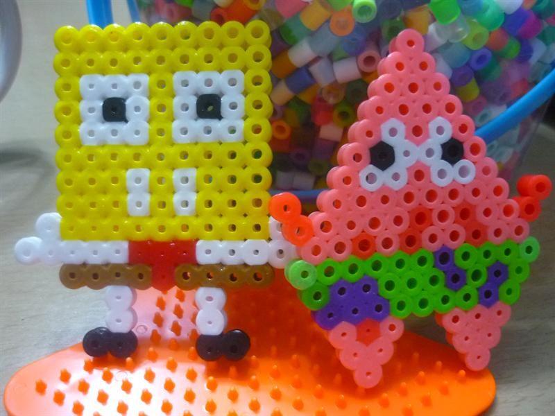 SpongeBob perler beads by Kur L.- Perler®   Gallery