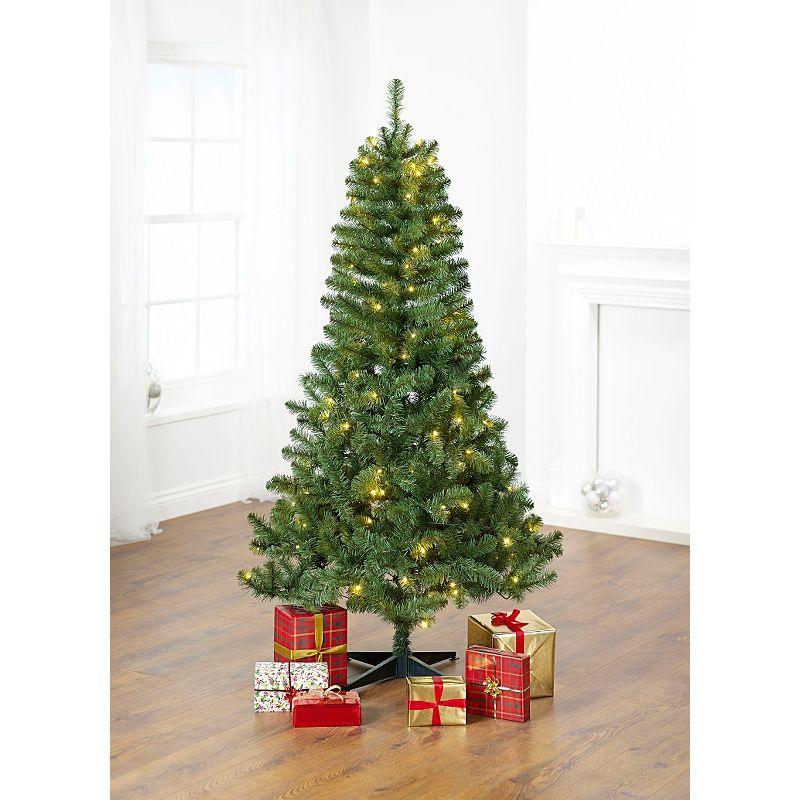6ft 180cm Traditional Christmas Tree Pre Lit Asda Direct 35 00