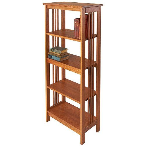 Manchester Wood Mission 54 Bookcase