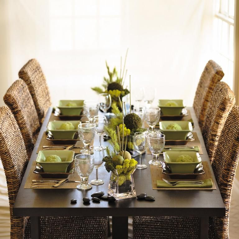 Lovely Clusters - The Pretty Blog: Table Setting Styles ...