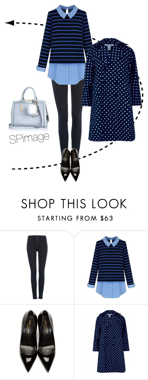 """#WeekendCasual"" by sp-image ❤ liked on Polyvore featuring Calvin Klein, Yves Saint Laurent and River Island"