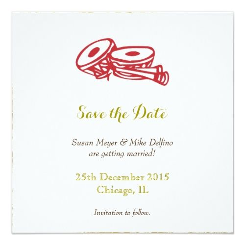 Indian wedding save the date save the date wedding invitation card indian wedding save the date save the date wedding invitation card red gold stopboris Images