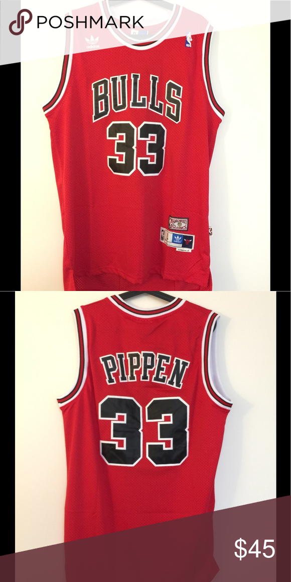 info for 8b264 e6161 Scottie Pippen #33 Chicago Bulls Red Jersey Brand new with ...