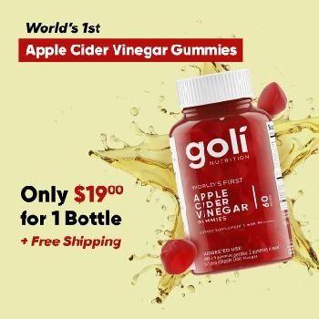 Goli Apple cider vinegar Gummy benefits and uses Apple