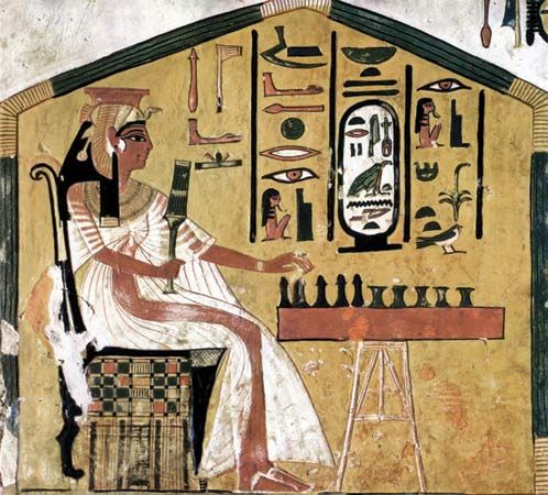 lesson plan: Egyptian culture and hieroglyphics  Kids paint their
